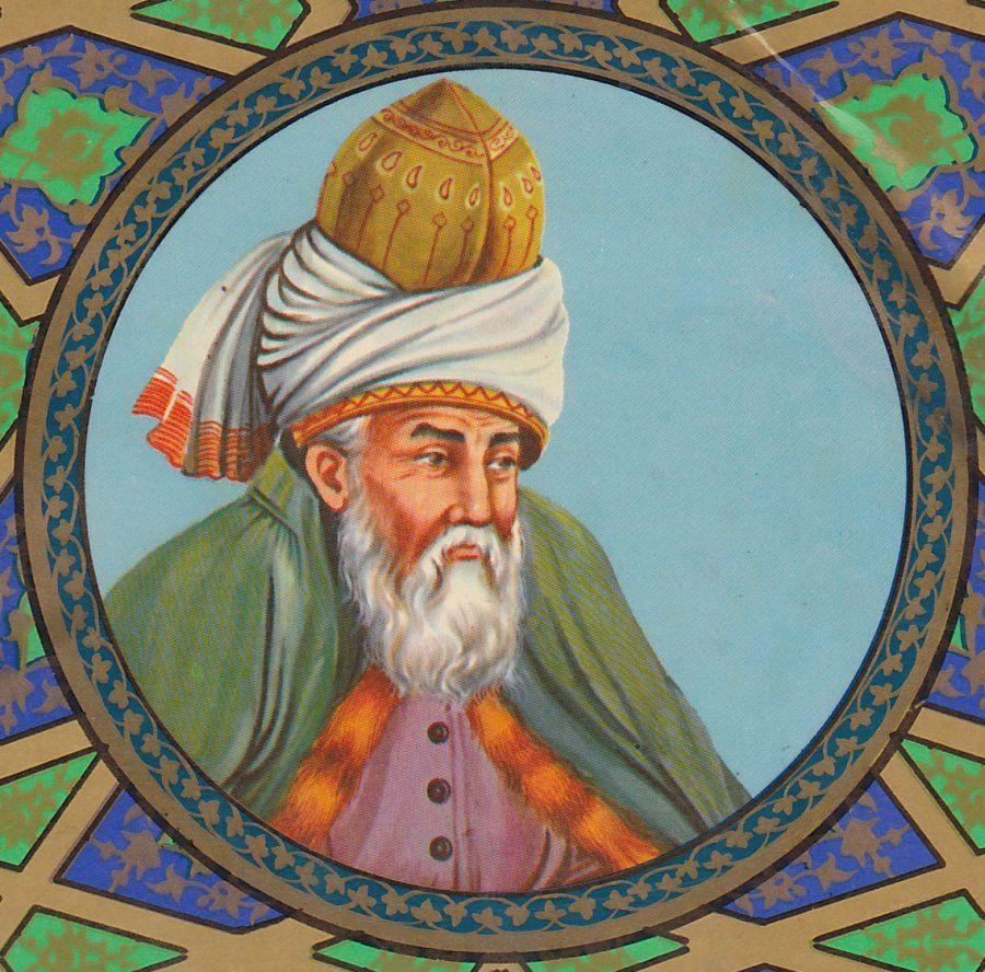 Rumi (Jalāl ad-Dīn Mohammad Rūmī) جلالالدین محمد رومی Джалаладдин Руми